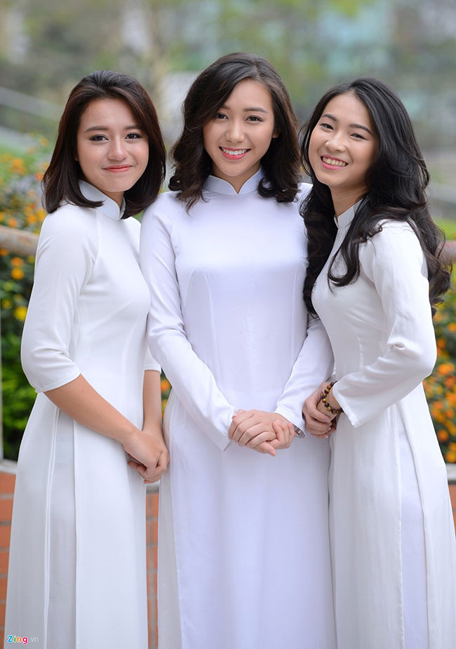 May áo dài trắng nữ sinh 4