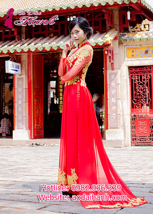 Cửa hàng áo dài Hạnh đường Cách Mạng Tháng Tám, Quận 1