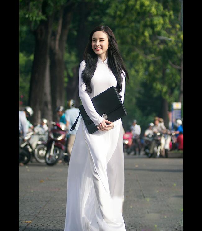May áo dài trắng nữ sinh tại HCM