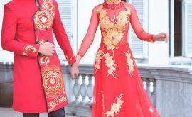 Cho thuê áo dài cưới trọn gói HCM