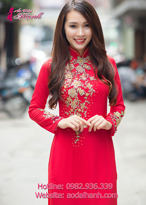 Áo dài cưới có nhiều mẫu đẹp để lựa chọn