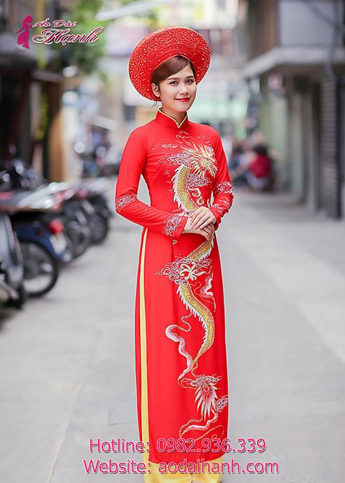 Áo dài Hạnh may áo dài lấy gấp đẹp