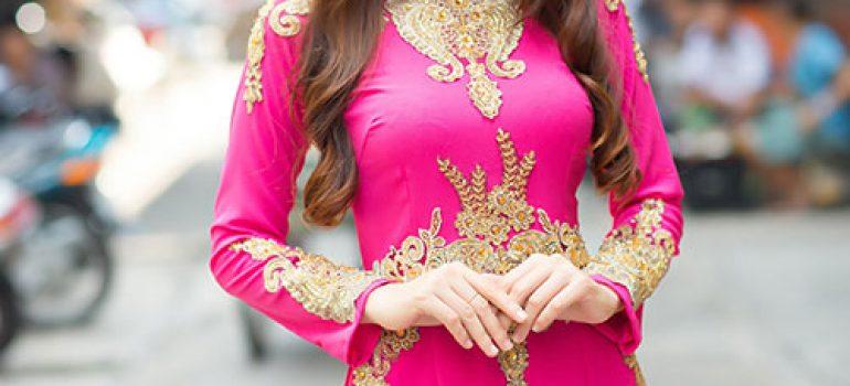 Chọn áo dài cưới theo vóc dáng 4
