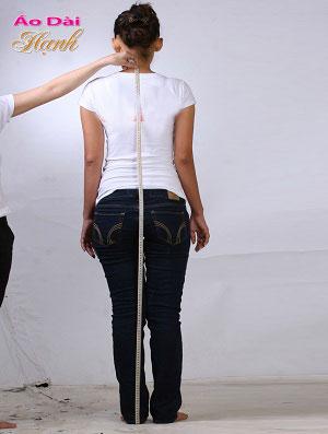 Hướng dẫn lấy số đo áo dài 01