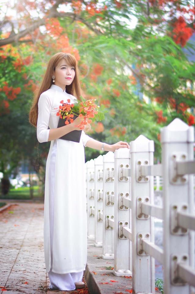 May áo dài trắng nữ sinh 1